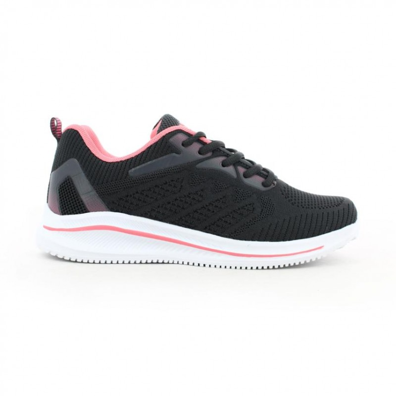 Tenis Running para mujer marca Xtep, color negro