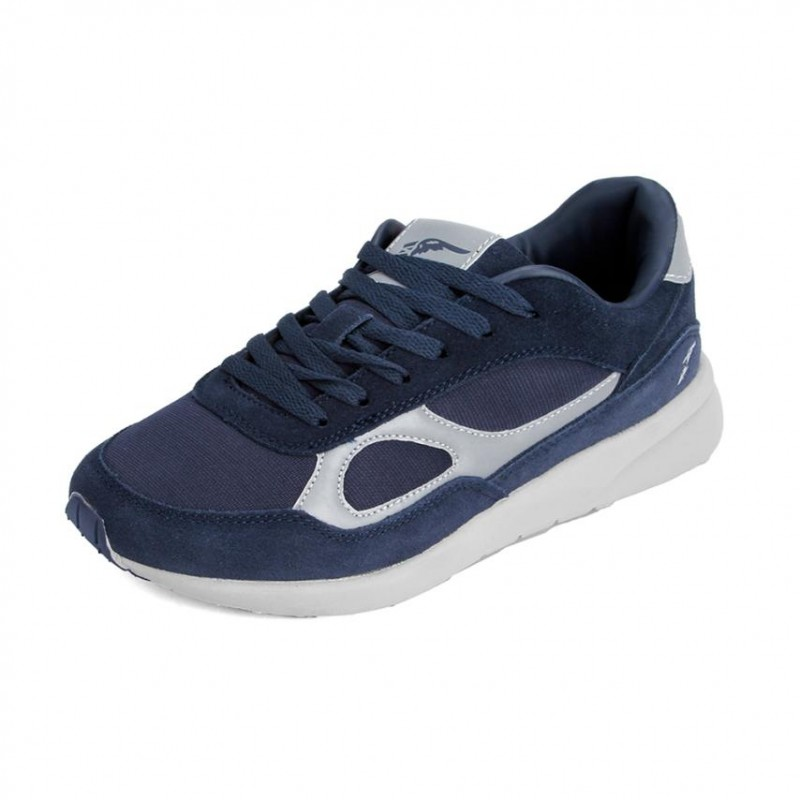 Tenis running para hombre marca good year, color azul