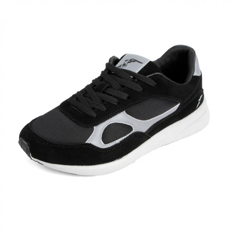Tenis running para hombre marca good year, color negro