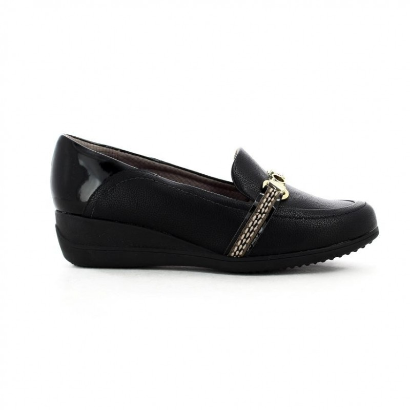 Mocasines para mujer marca Piccadilly, color negro