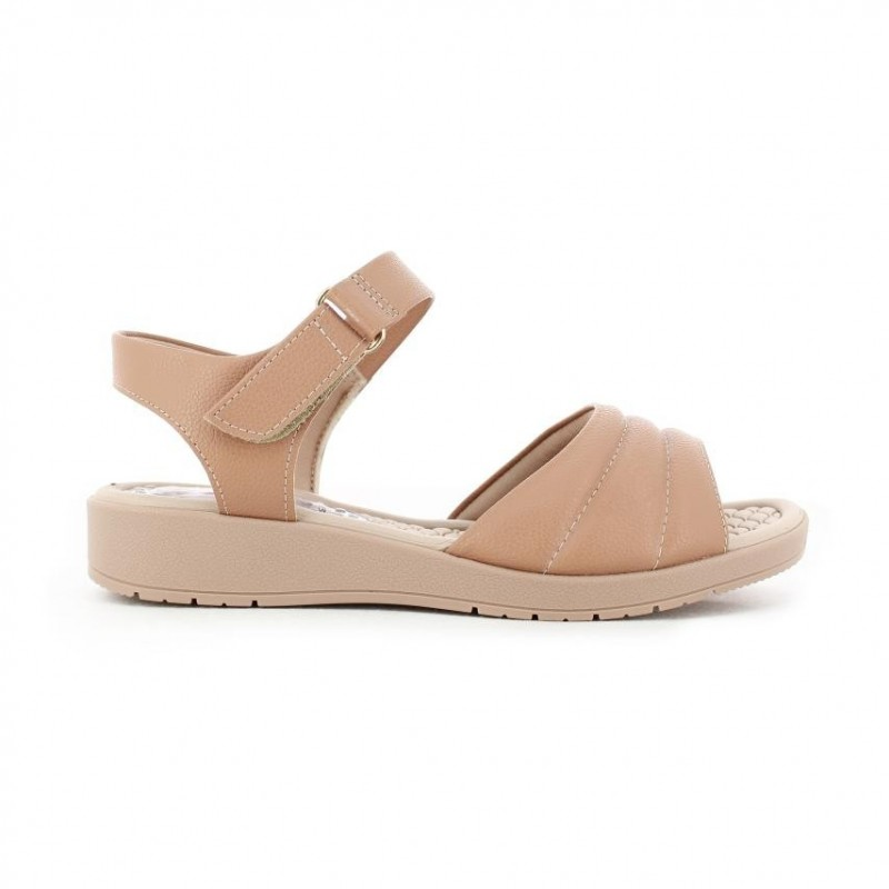 Sandalias para mujer marca Piccadilly, color Beige